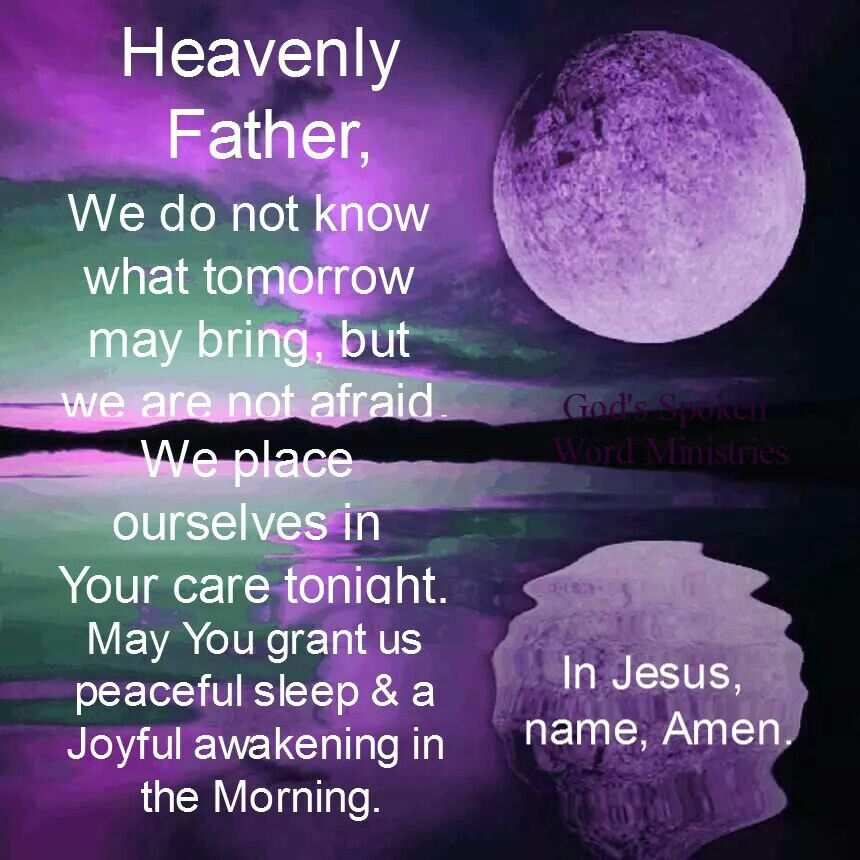 Heavenly Father, We Do Not Know What Tomorrow