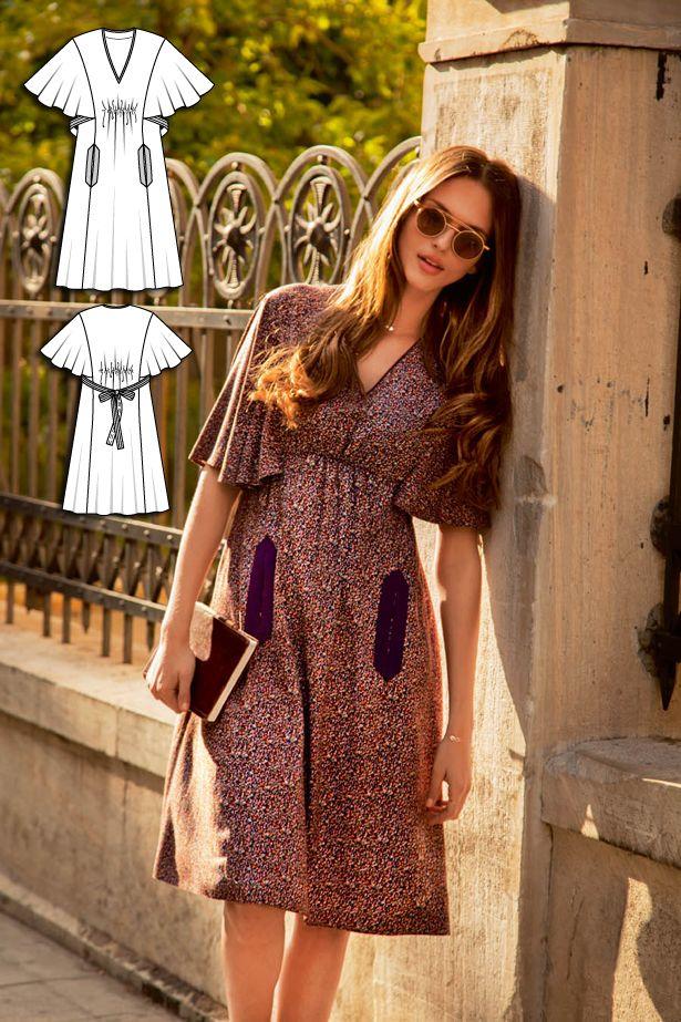 English Manor: 11 New Women\'s Sewing Patterns | Komisch, Kleider ...