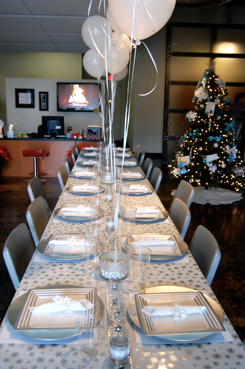 Company Christmas Party Ideas.Decor For A Winter Wonderland Themed Company Christmas Party