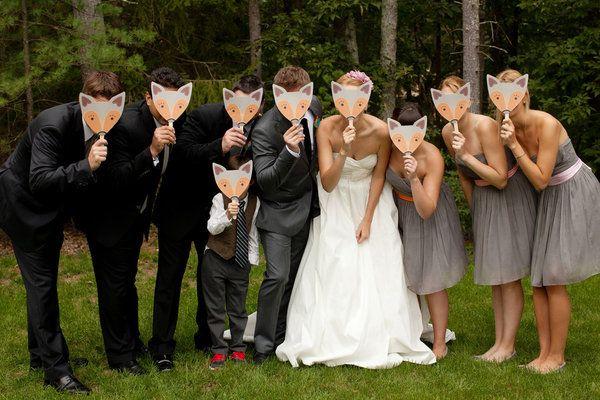 Foxy wedding