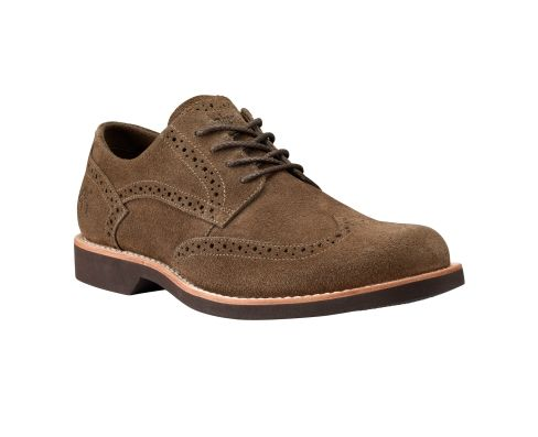 Timberland Earthkeepers Stormbuck Lite Brogue Shoes Navy Suede For Men