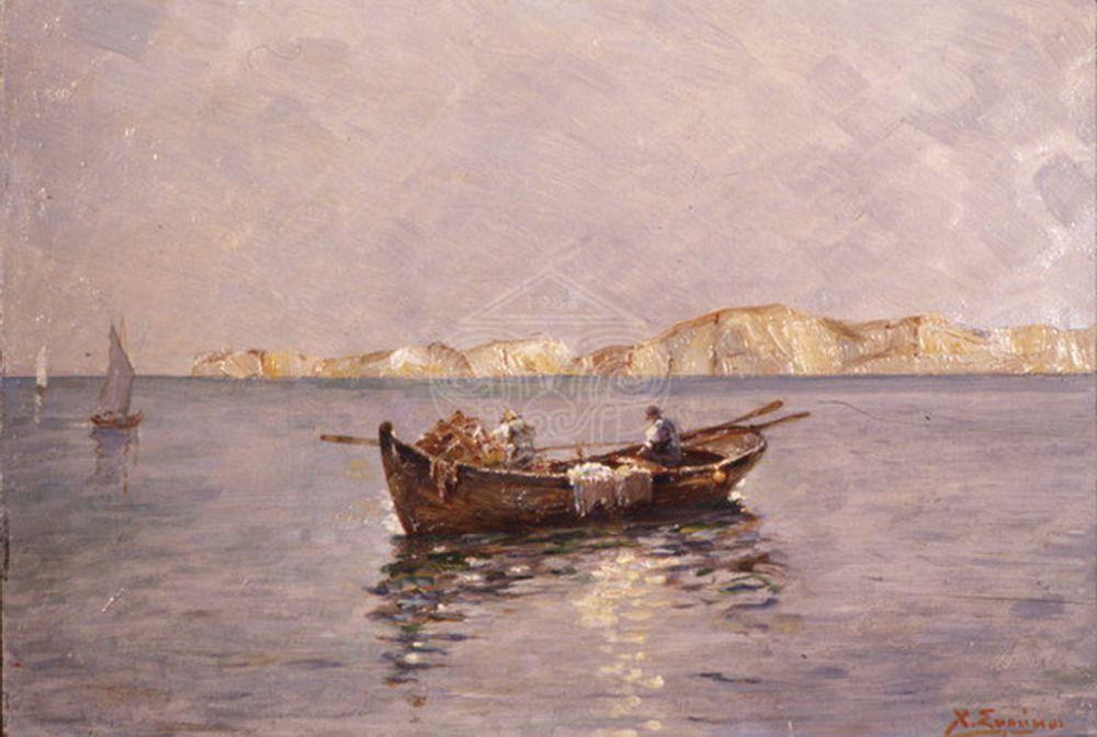 Συρράκος Χρήστος – Xristos Syrrakos [1881-1945] | paletaart – Χρώμα & Φώς