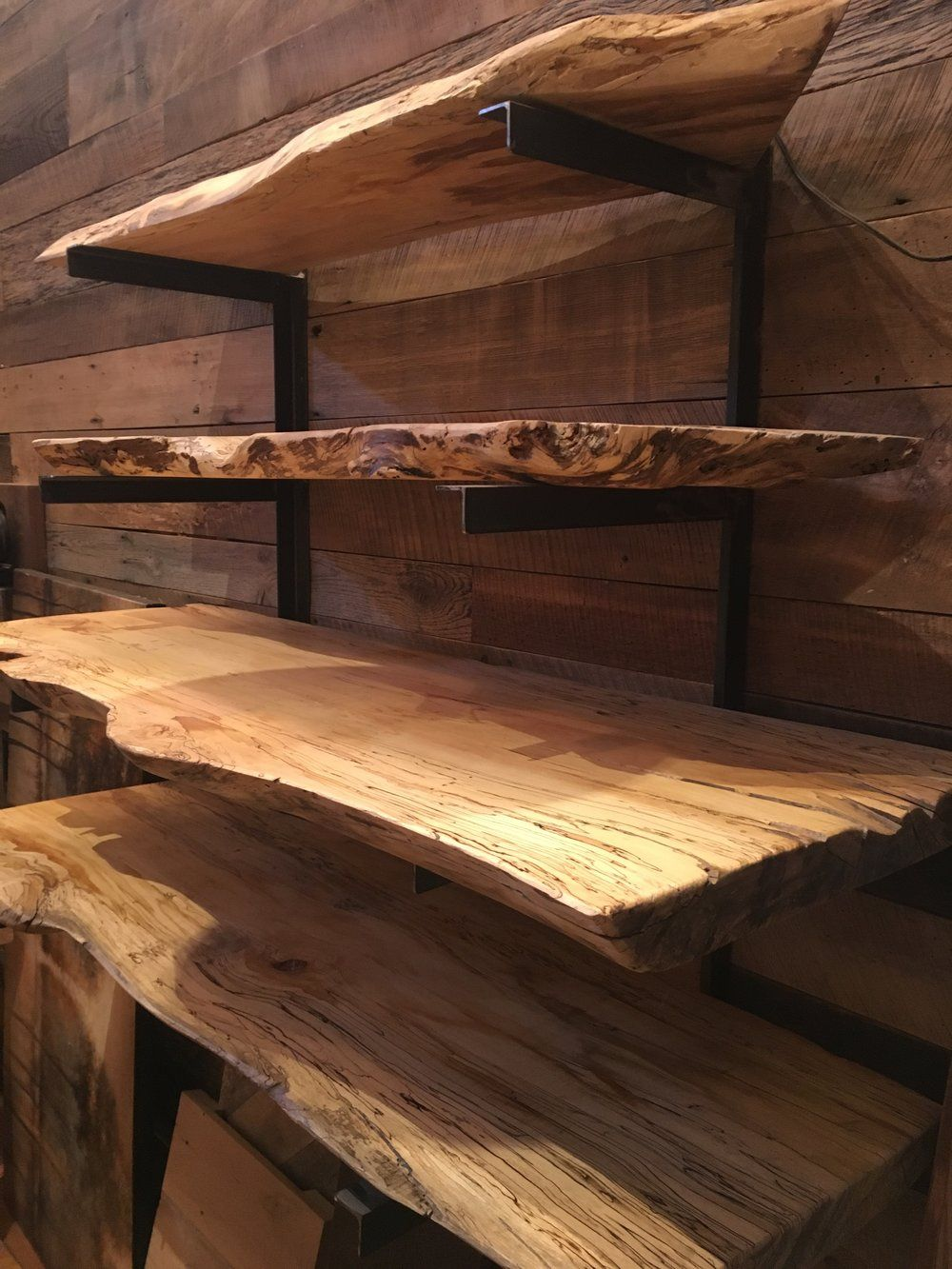 Woodstock Vintage Lumber Nashville S Original Reclaimed Lumber Store Blog In 2020 Live Edge Shelves Live Edge Furniture Rustic Wood Floating Shelves