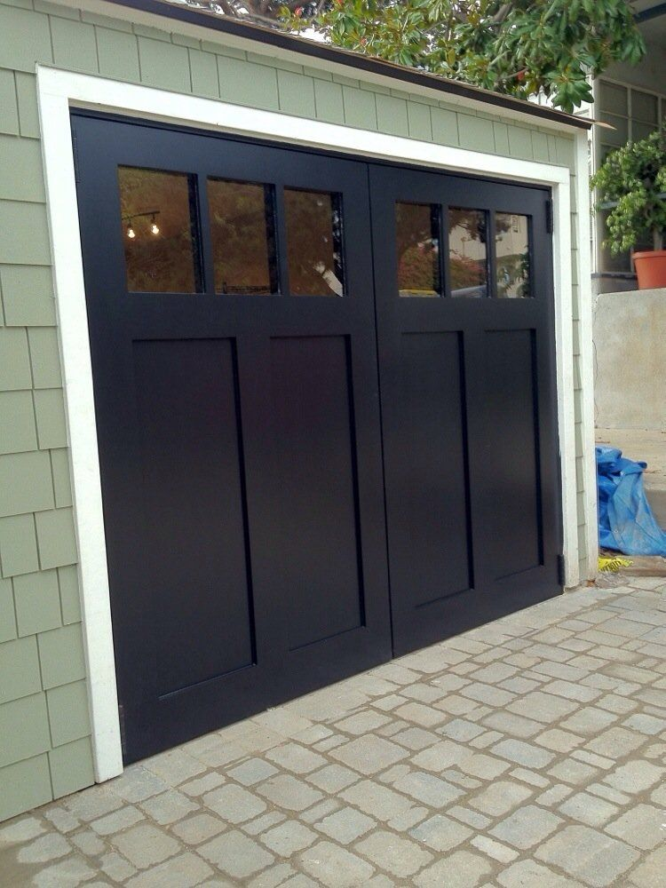 Tungsten Royce   Santa Ana  CA  United States  Craftsman style swing out  carriage  Garage ItemsGarage Door. Tungsten Royce   Santa Ana  CA  United States  Craftsman style