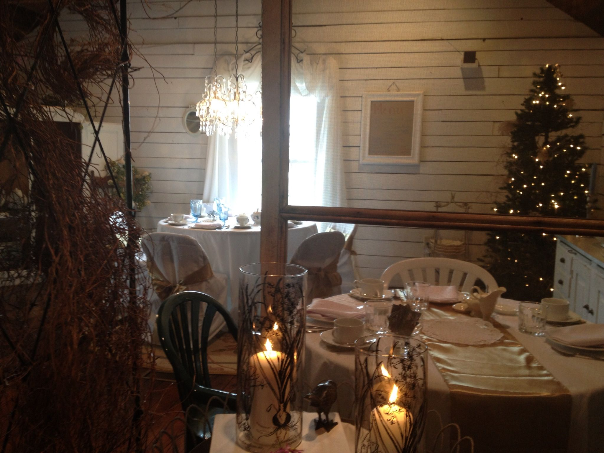 Eagles nest tea room table decorations tea room decor