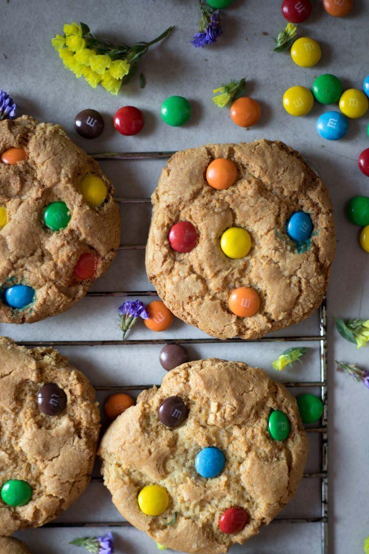GlutenFree M&M Cookies Recipe Lactose free cream