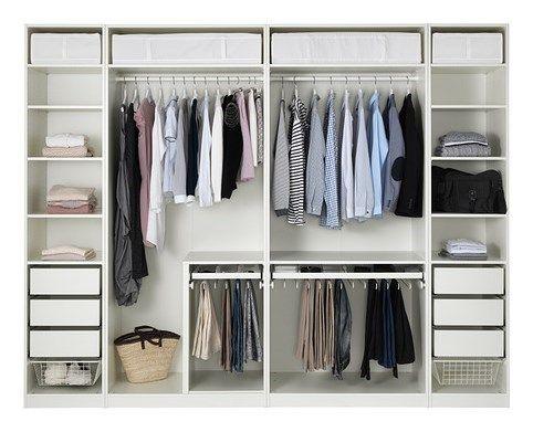 Ankleidezimmer ikea ~ Pax szafa biały ikea furniture pinterest wardrobe design