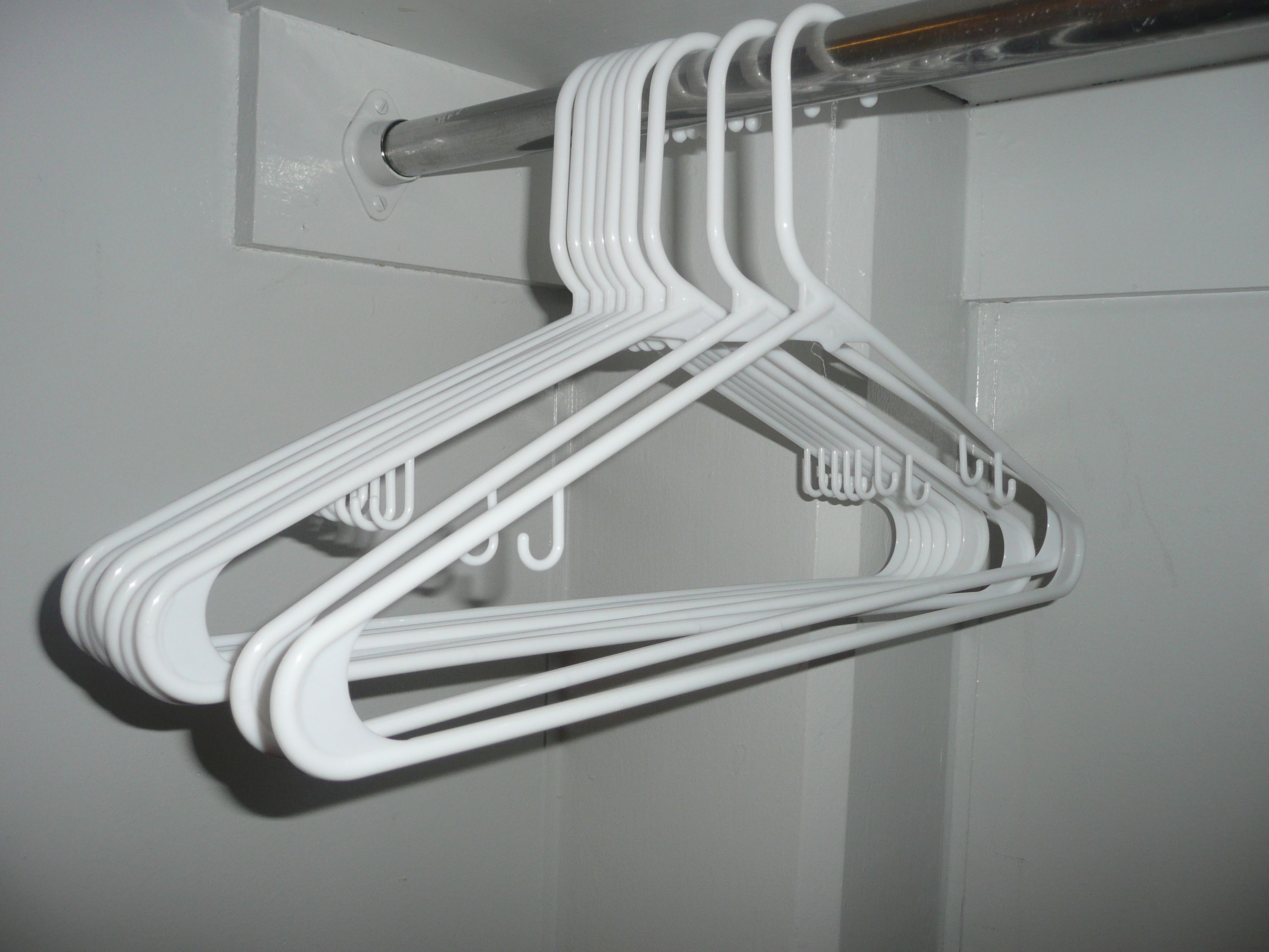 Hangers are mass-produced. One can rarely buy a single hanger, usually they come in sets of 10 or 18. Some packs of hangers can be $1 or $2, not expensive at all. Hangers can easily break therefore making the consumer buy more.