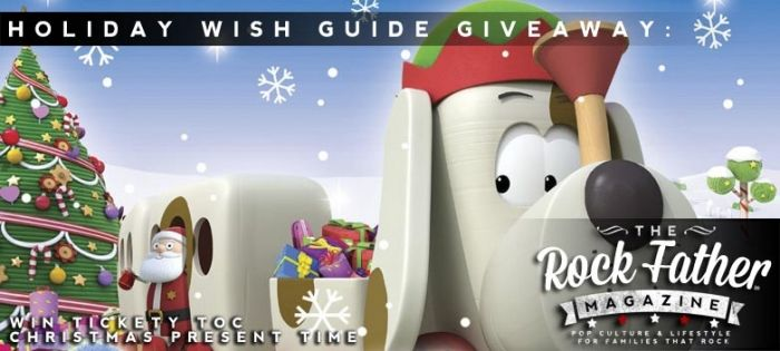 Holiday Wish Guide Giveaway: TICKETY TOC - Christmas Present Time ...