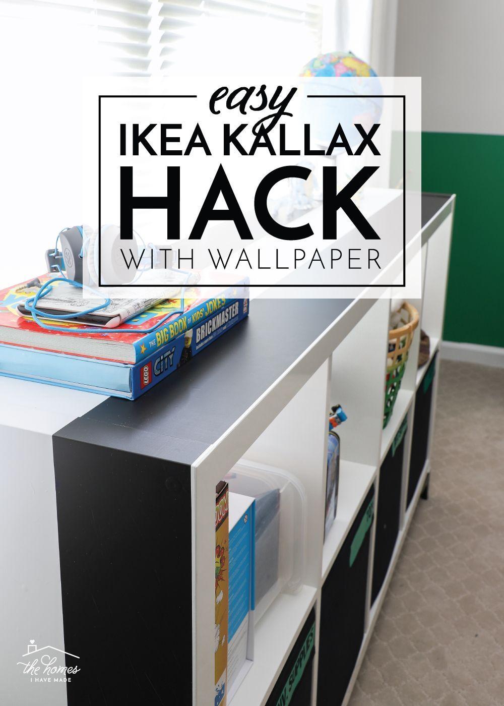Ikea Kallax Hack With Wallpaper Kallax Ikea Ikea Kallax Hack Ikea Wallpaper