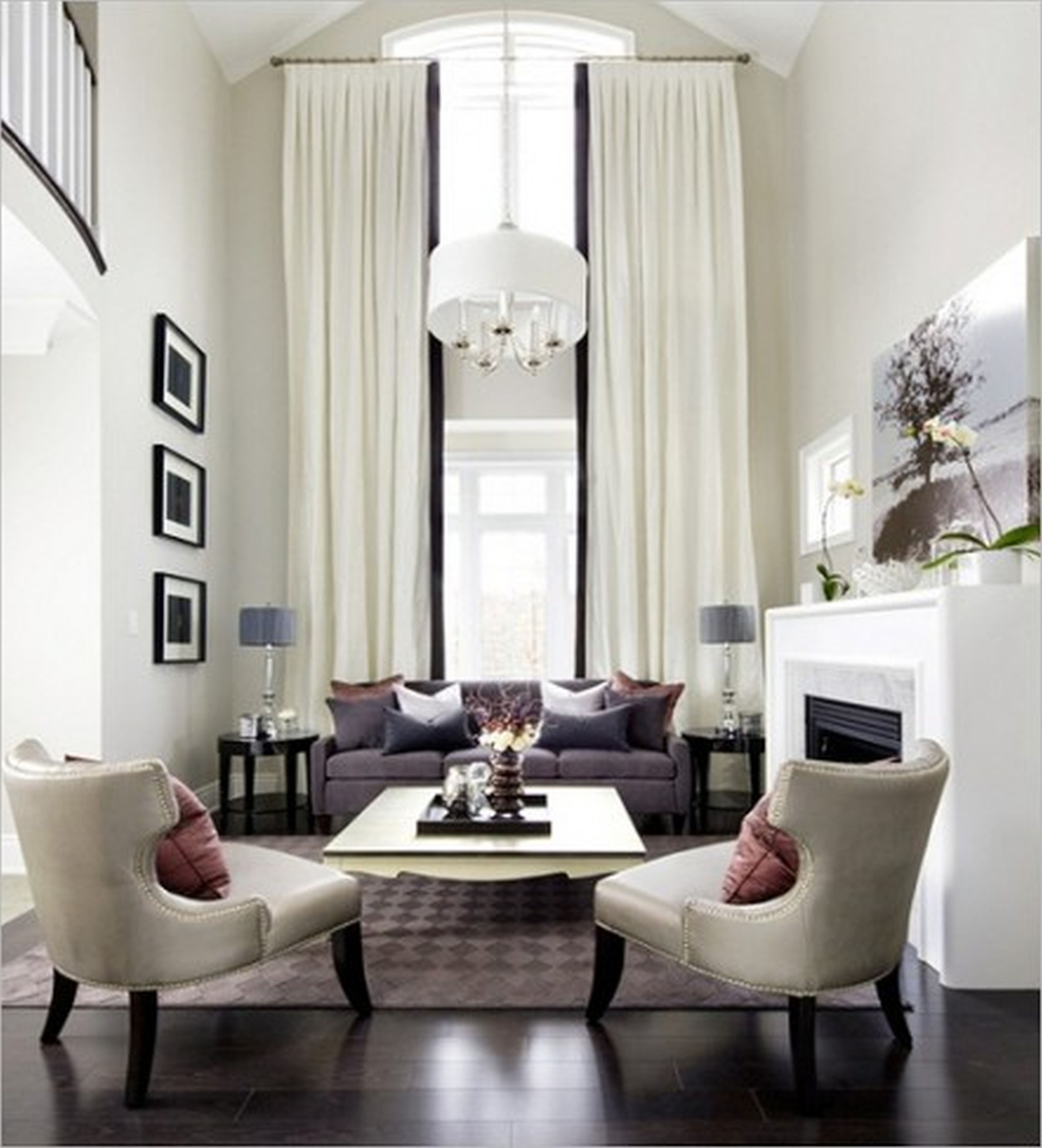 living room two sofas facing each other - Google Search | Ideas for ...