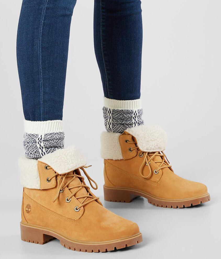 Jayne Waterproof Leather Boot