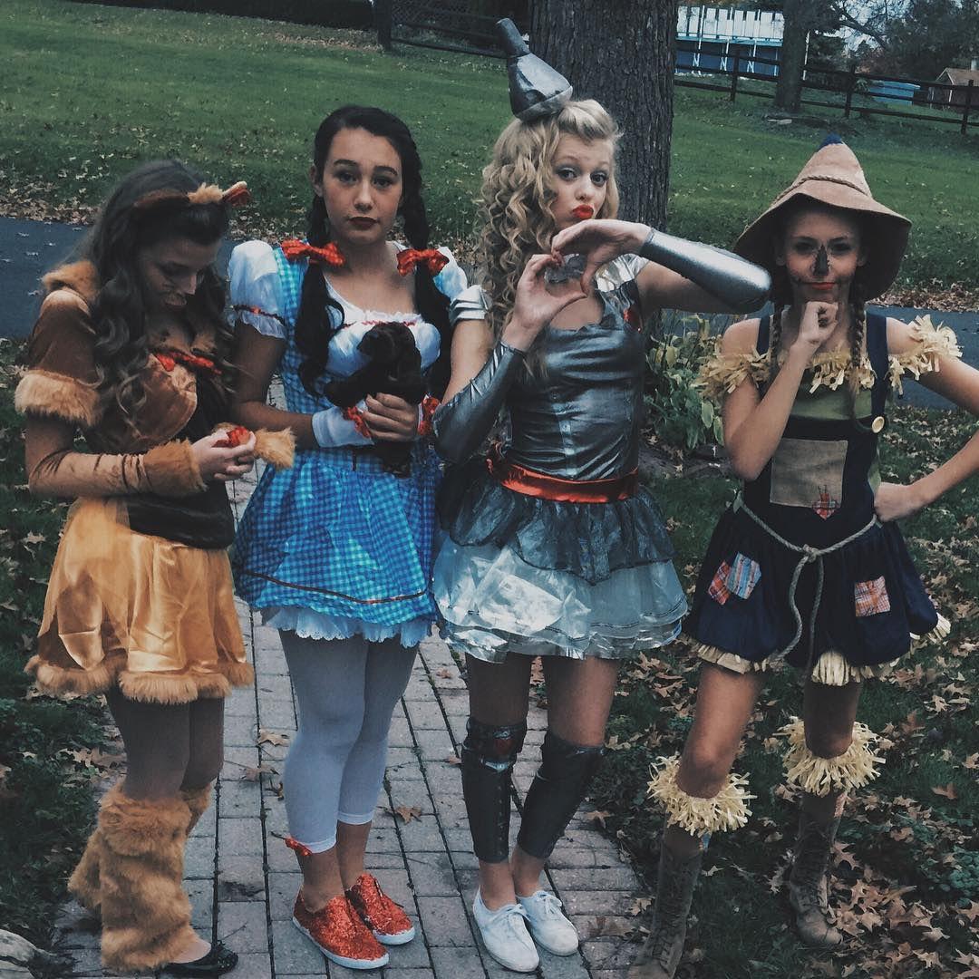 Friend Group Halloween Costumes Kids.Wizard Of Oz Girls Costume Ideas 2018 Halloween Costume