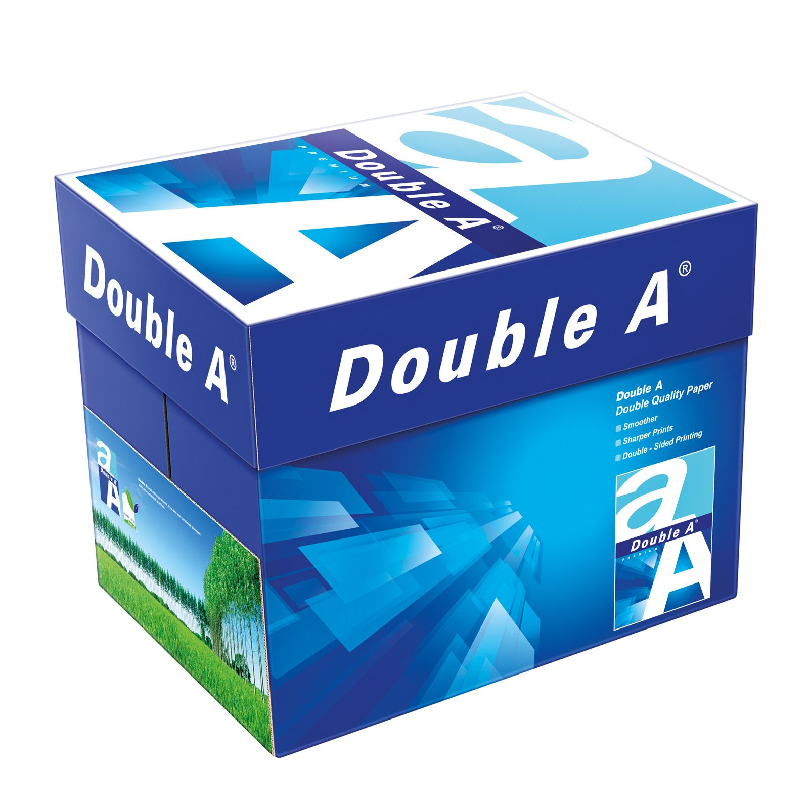 Double A White Color Printing Photocopy Paper A4 A3 A5 Size 80gsm 70gsm For Sale Paper Manufacturers Paper Suppliers Copy Paper