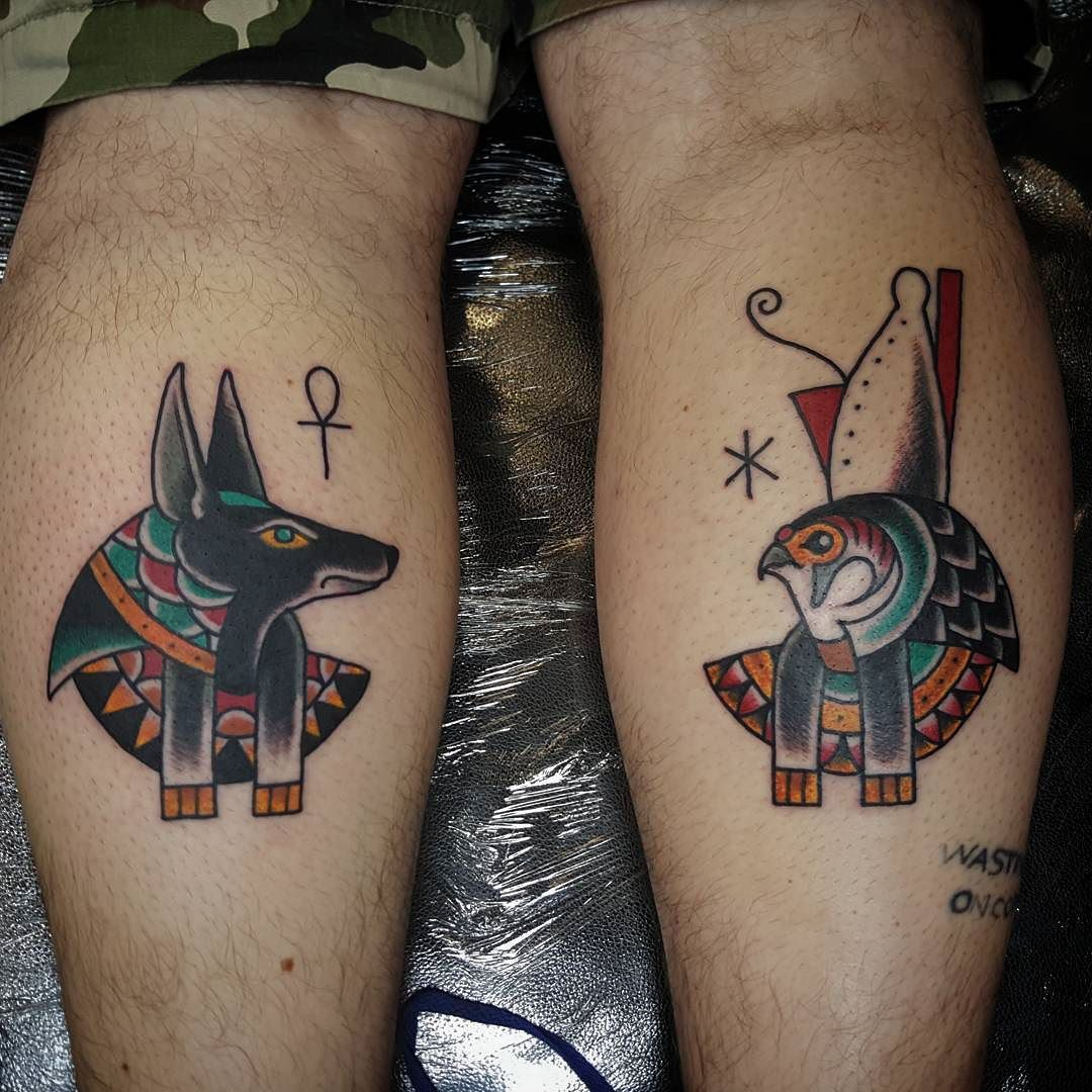 Follow And Tag Inkedmagz To Get Featured Anubis And Horus For
