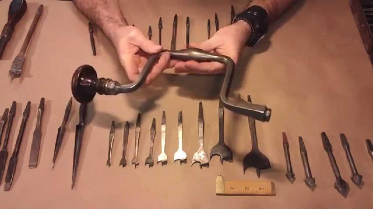 Brace and bit cleaning upkeep sharpening braces rust