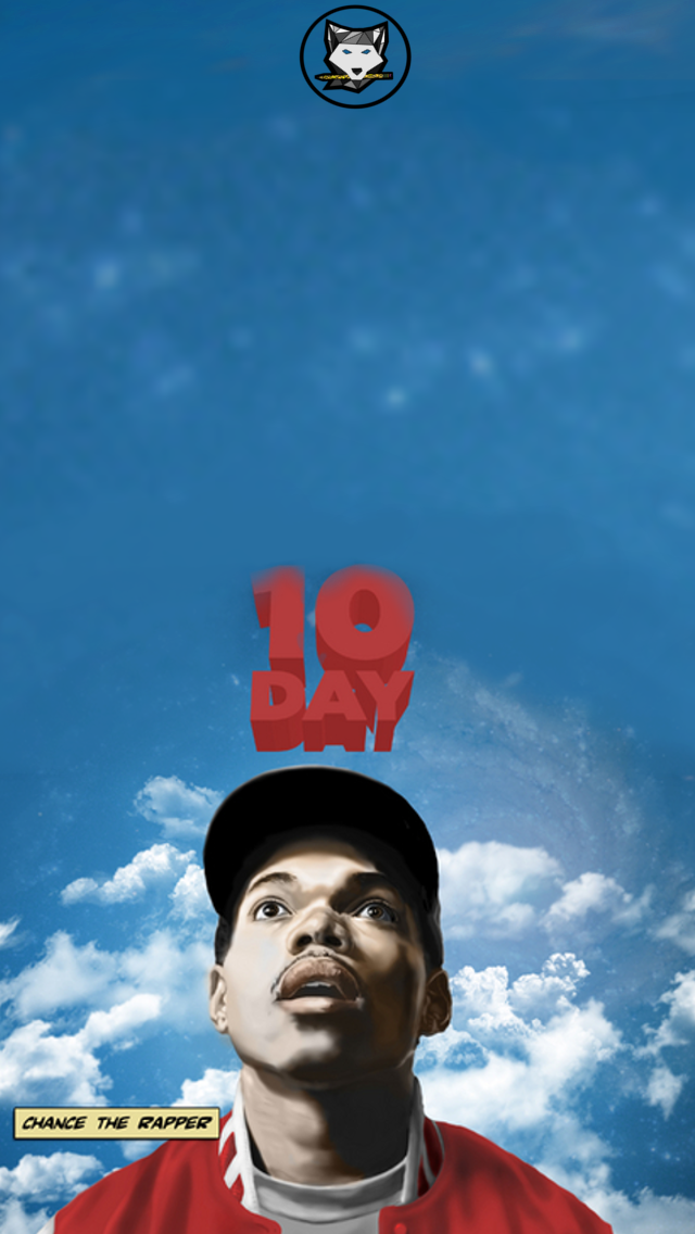 Chance the Rapper 10 Day Wallpaper by bryanwerewolf on