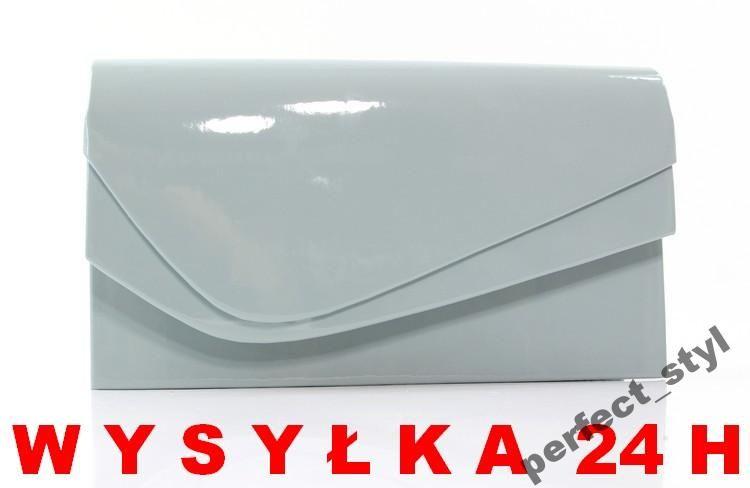 8105ac01 P_S szara torebka kopertówka PRODUKT POLSKI | kopertówka | Container