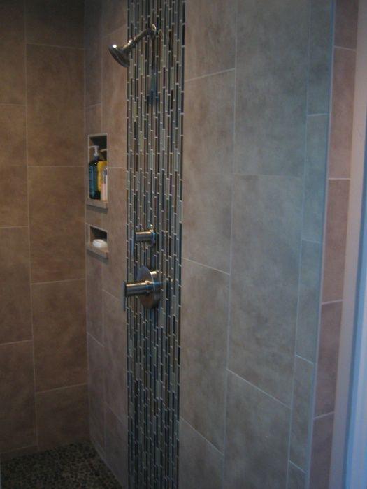 Can I Use A Large Porcelain Tile Bathroom Ideas Pinterest
