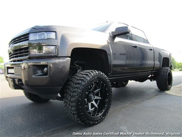 2015 chevrolet silverado 2500 hd lt duramax diesel lifted 4x4 crew cab short bed richmond va. Black Bedroom Furniture Sets. Home Design Ideas