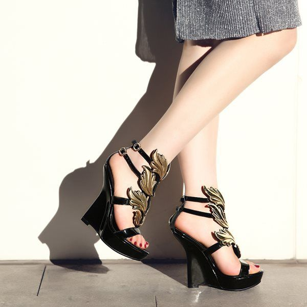 Aliexpress.com   Buy 2014 women s single flat heel dipper shoes real genuine  pig leather 92002aca3fa6