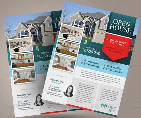 Open House Flyers For Loan Officers  Open House Flyer Ideas
