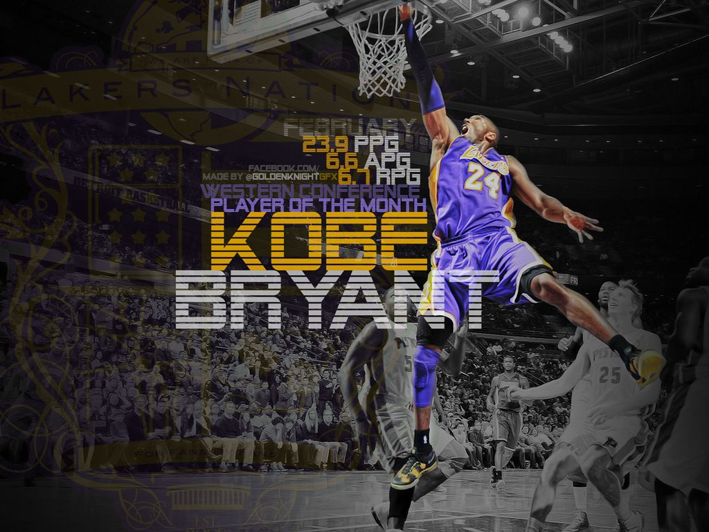 Lakers Wallpaper Kobe Bryant Wins Western Player of the