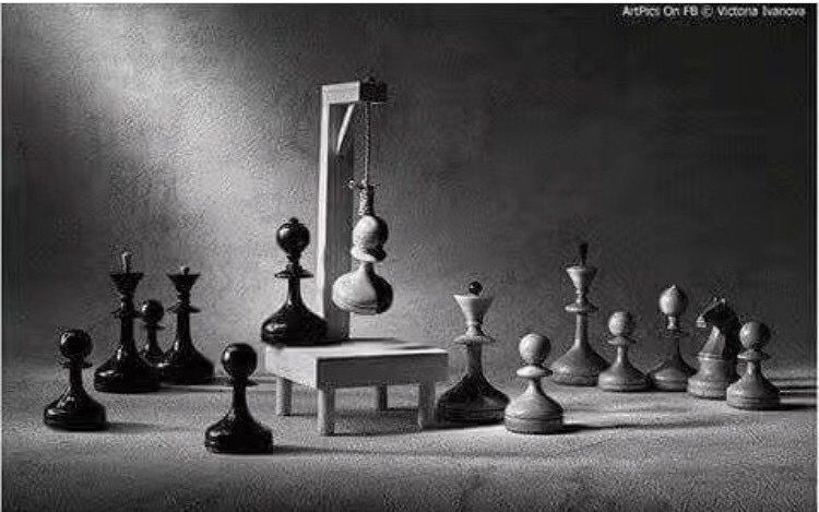 The game of truth in my country لعبة Chess is either a king or a king