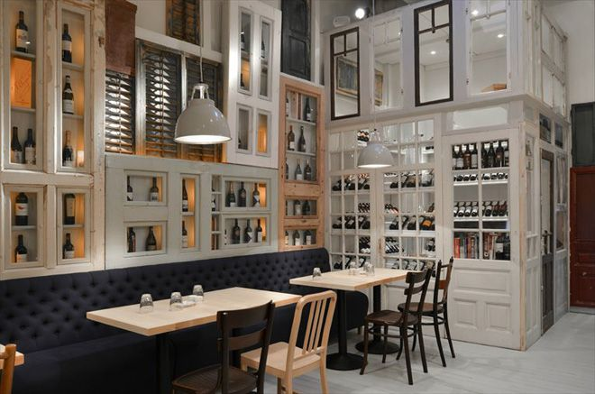 BON restaurant in Bucharest by Cristian Corvin
