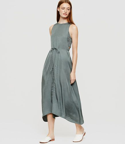 Image of Lou & Grey Luster Cutaway Dress color Lush Garden