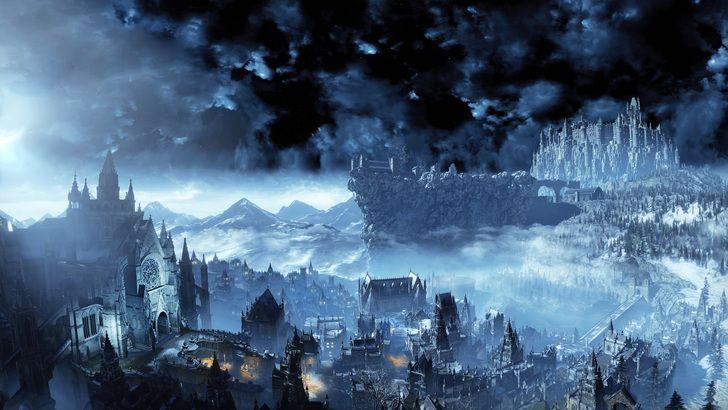 Dark Souls Iii 4k Wallpaper High Resolution Part 2 Dark Souls Dark Wallpaper Castle Illustration