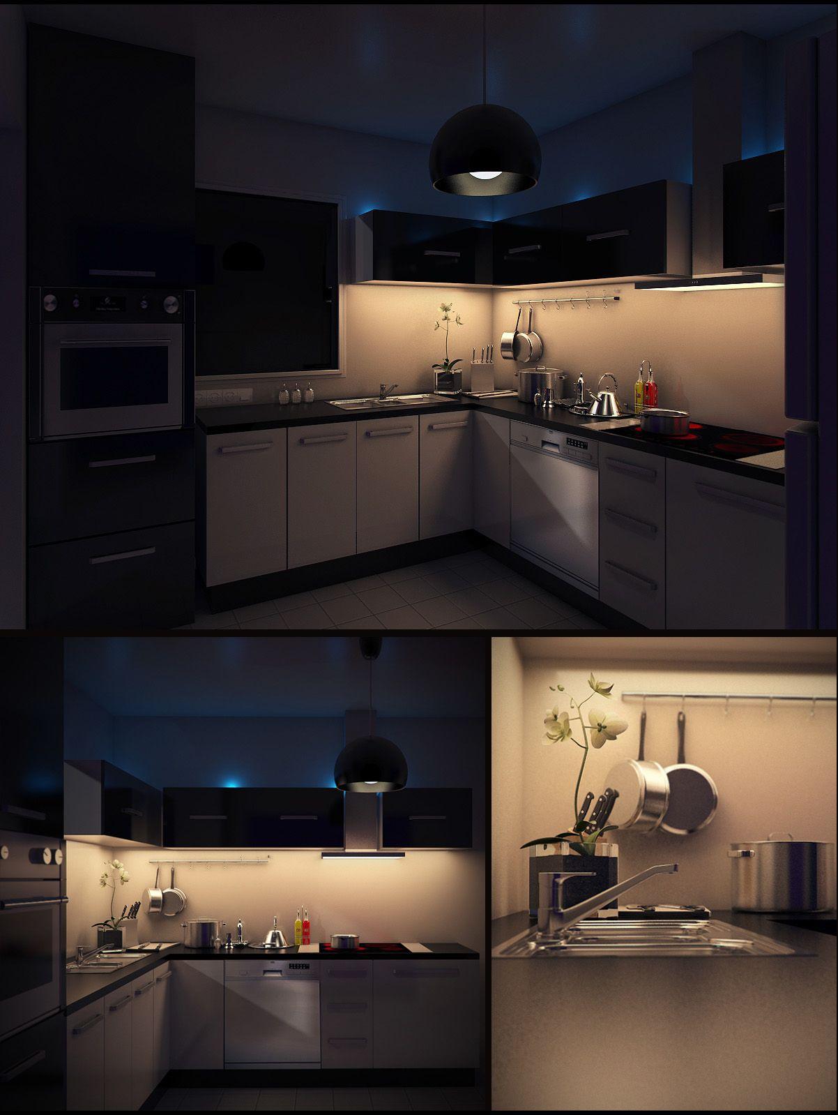 My Kitchen by BuGsY 3D Art Pinterest