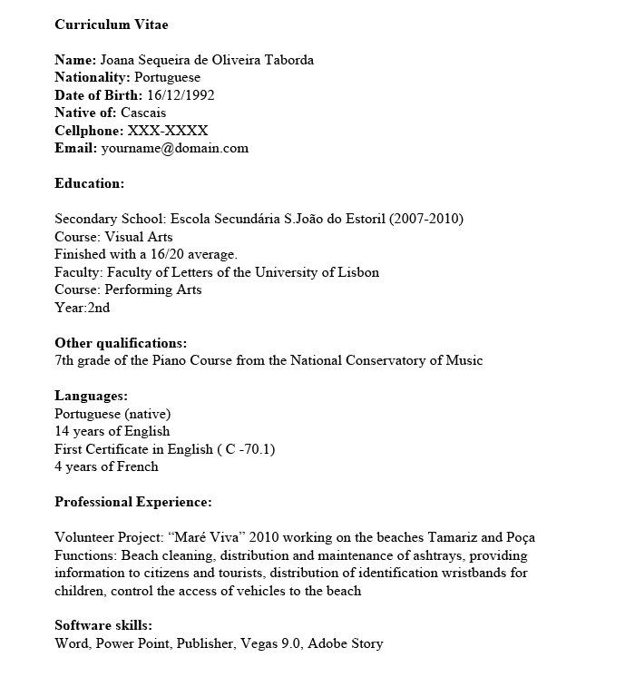 My Basic Resume Got Me Nowhere, But This Template Lands Me - resume about me