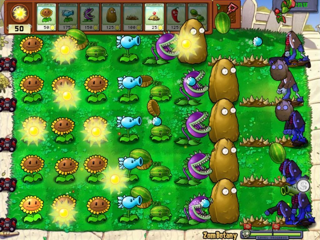 How To Defeat Zombotany In Pvz Plants Vs Zombies Zombie Plants