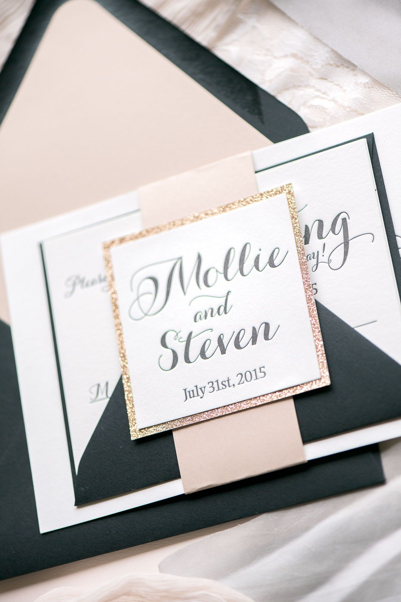 TIFFANY Wedding Invitation Suite