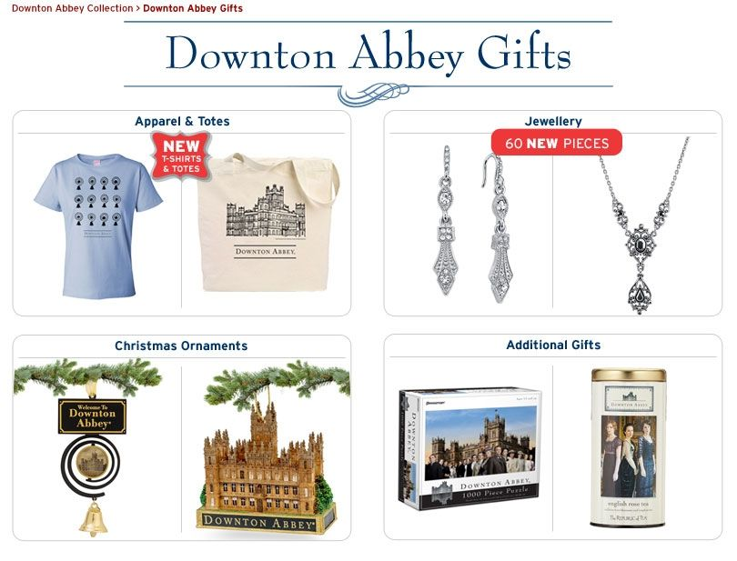 Shop PBS - Gifts: Downton Abbey Gifts