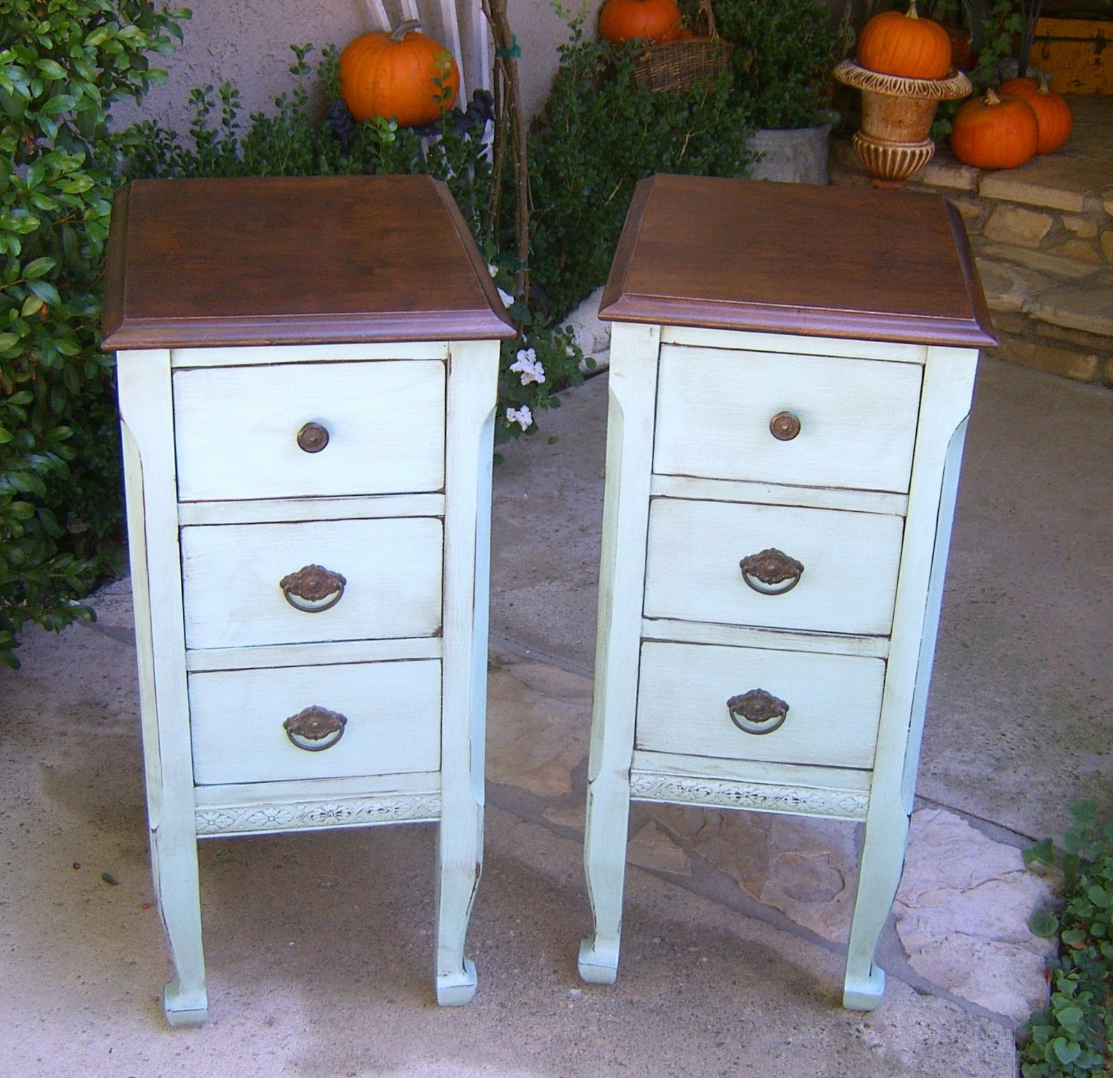 LittleMissMaggie Vanity turned Night Stand