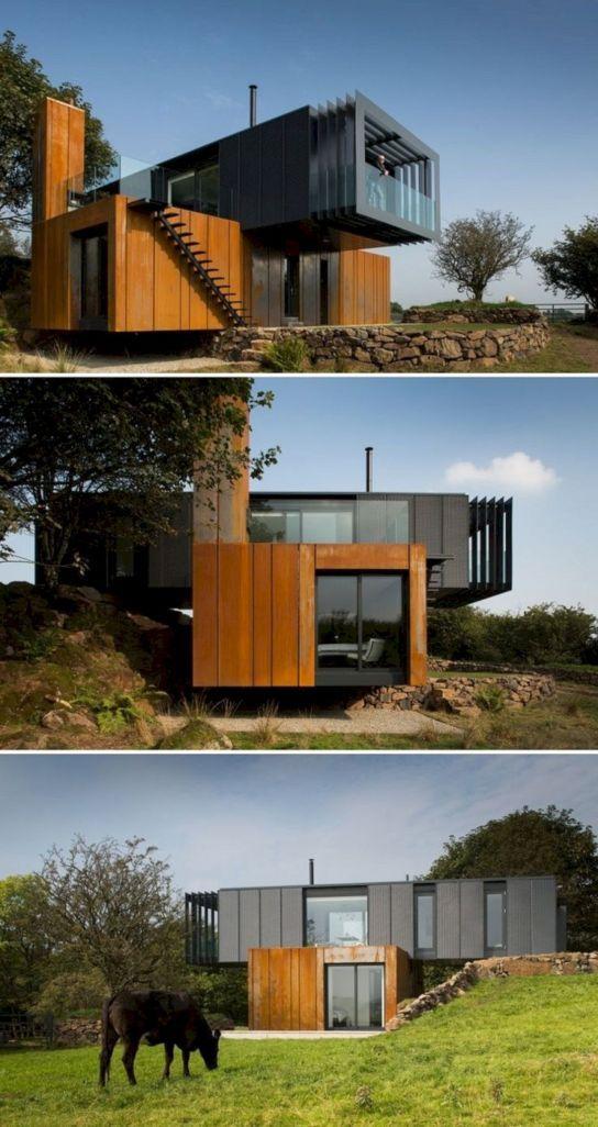 Unique Container Home Design Ideas
