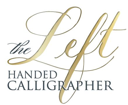 Calligrapher | Left Handed Calligrapher