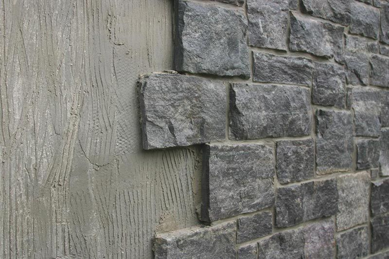 Stone Wall Cinder Block Walls Cinder Block Garden Cinder Block House