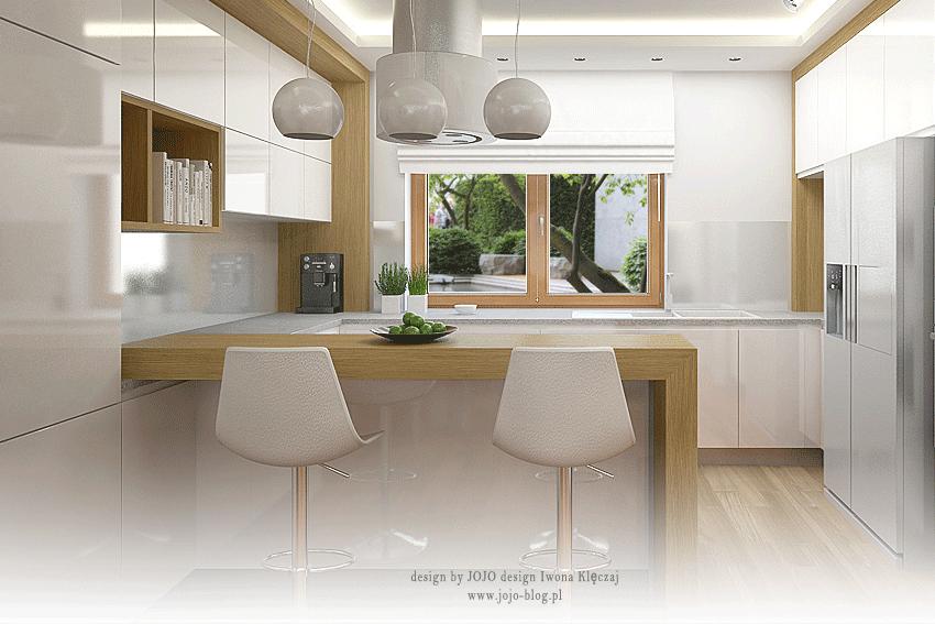 Nr 210 Kuchnia Z Wyspa W Bieli I Drewnie Furniture Home Decor Decor