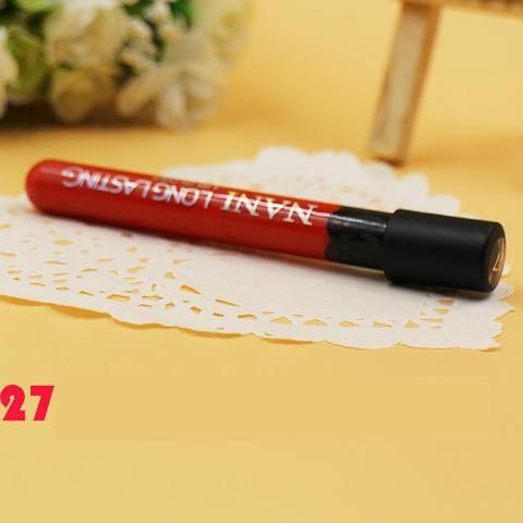color  lip gloss Waterproof Makeup LipStick matte Lip Pencil Lipstick - Stylish n Trendier - 15
