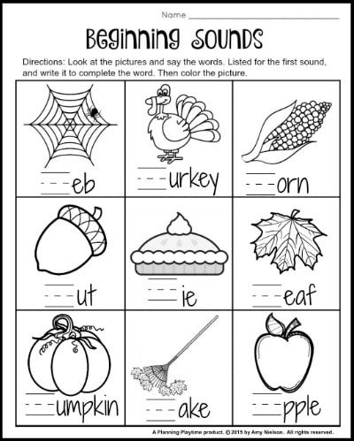 1st Grade Math And Literacy Worksheets With A Freebie! - Planning Playtime  Literacy Worksheets, 1st Grade Math, 1st Grade Math Worksheets