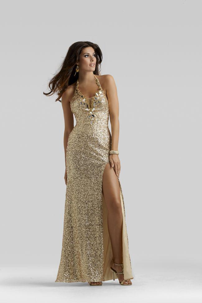 Style 2409 Promgirl.net #Clarisse #oscargold #sequins