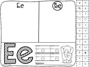 Mi Alfabeto {Alphabet Practice Pages in Spanish