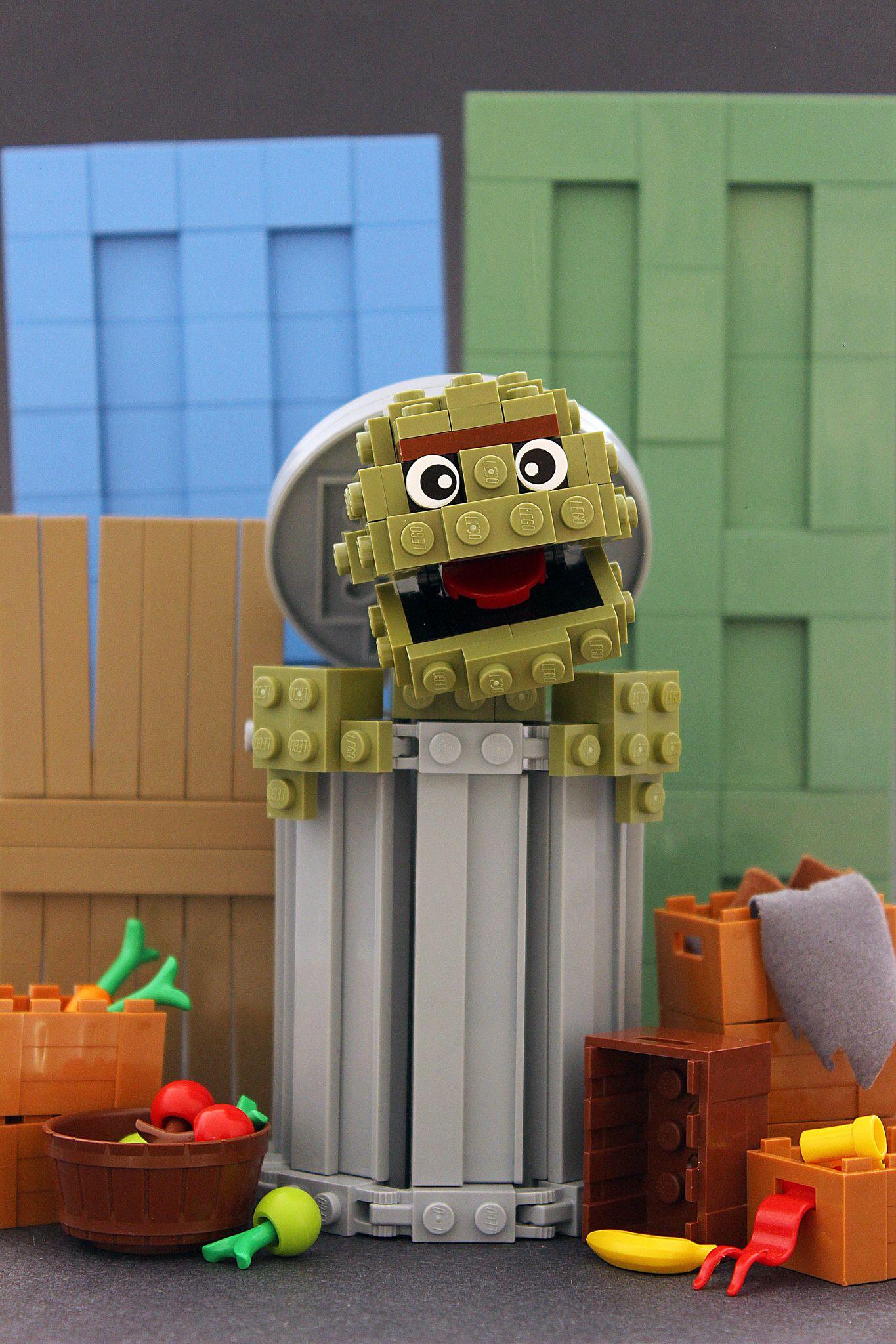 Sesame Street LEGO Pinterest