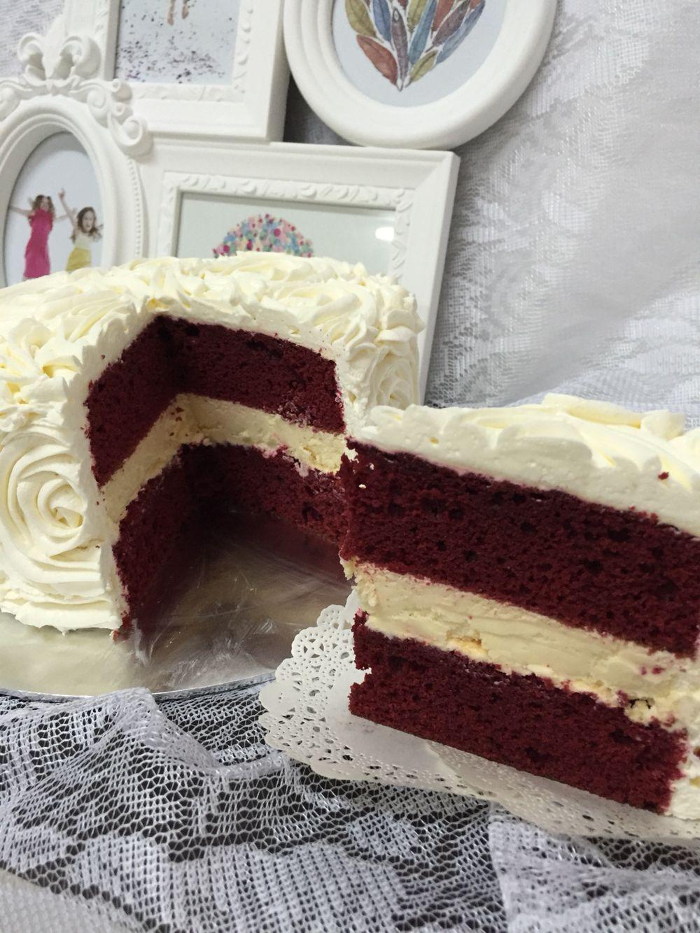 Red velvet cheese
