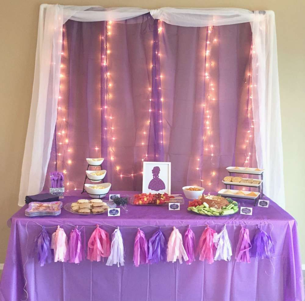 Sofia the First Birthday Party Ideas | Ideas para fiesta ...