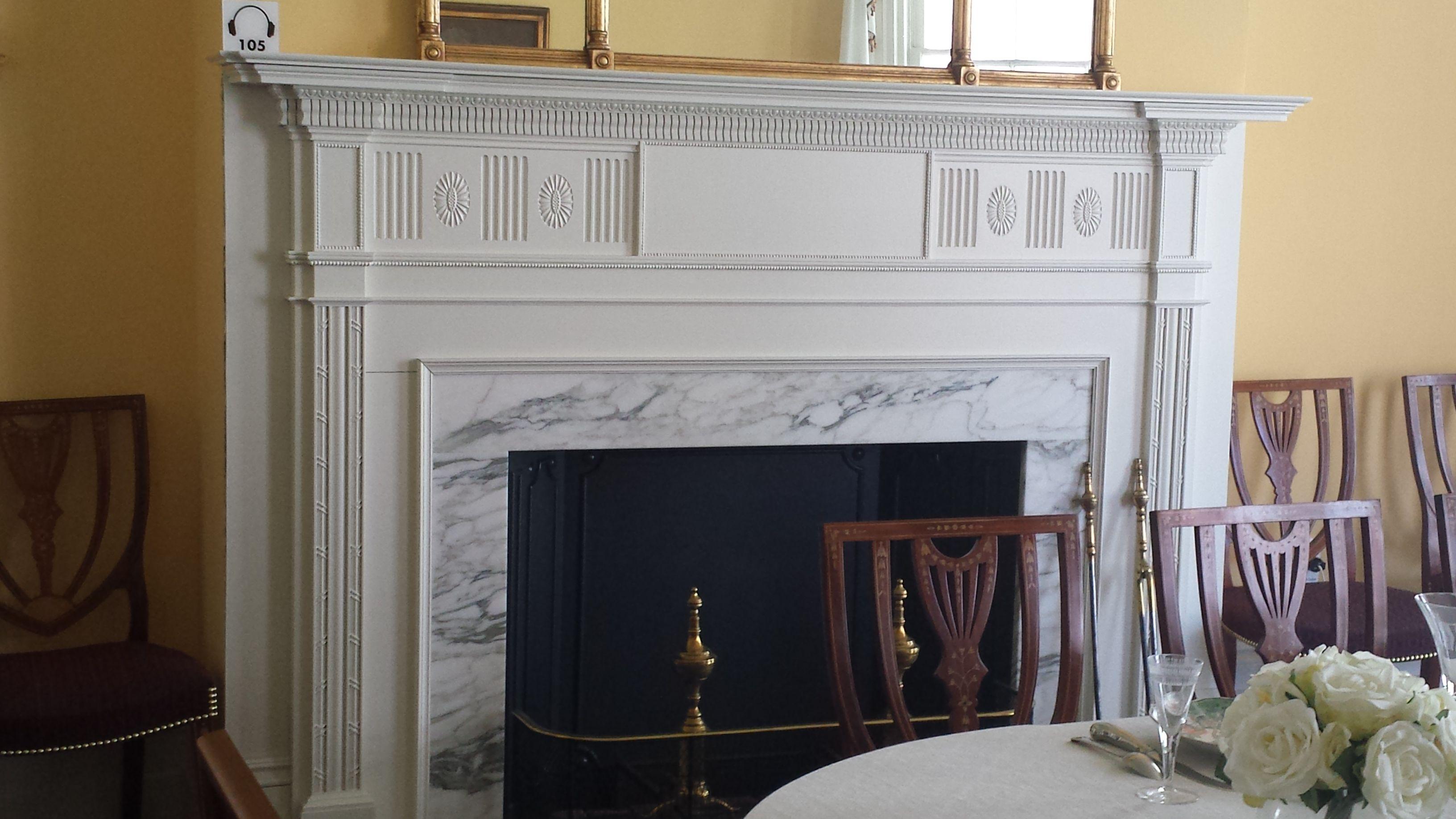Dining Room Fireplace, Hamilton Grange, NYC