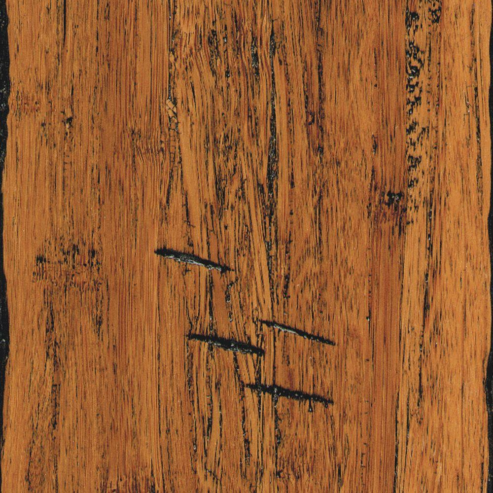 Home Legend Hand Scraped Strand Woven Antiqued 3 8 In X 5 1 8 In X 36 In Length Click Lock Bamboo Flooring 25 625 Sq Ft Case Hl215h Bamboo Flooring Bamboo Hardwood Flooring Flooring